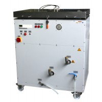 1.074 - Bitumen washer with drying unit for 6 glasses
