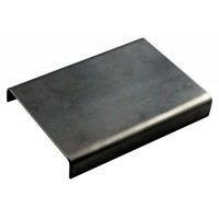 1.630 - sample plate, 75x50 mm, stainless steel
