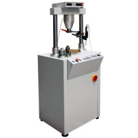 3.222 - Universal test machine 50 kN feed regulated Feed 0,01 mm/min. to 9,99 mm/min.
