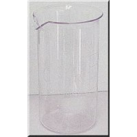 Z1.102.05 - Glass beaker 800 mlhigh form with markings and spout