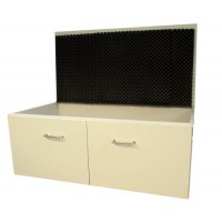 5.505 - Sound absorbing cabinet for jolting table 5.500